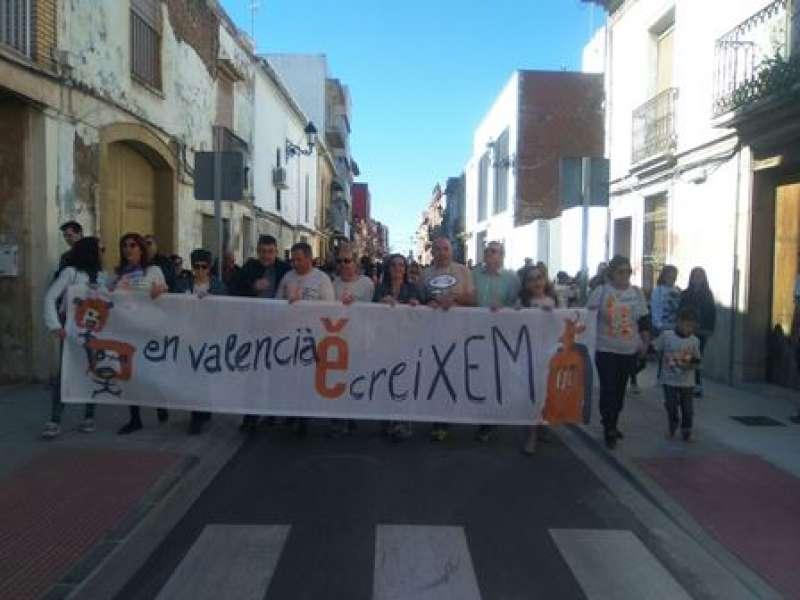 Maria Josep Amigó, Xavier Rius i Josep Bort a la Trobada d