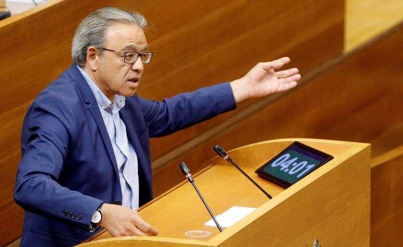 El vicesecretario general del PSPV-PSOE y síndic socialista en Les Corts, Manolo Mata