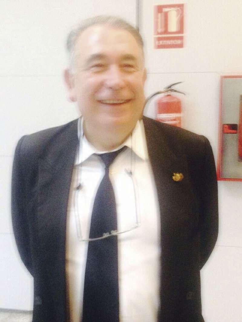 José Antonio Sancho, feliz. FOTO EPDA