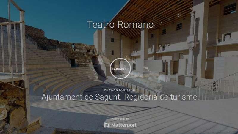 Visita virtual al Teatre Romà.