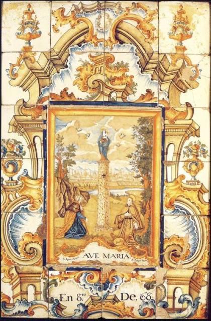 Imagen del retablo. FOTO: EPDA