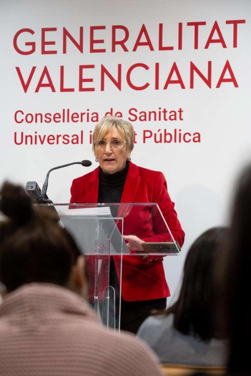 La consellera de Sanidad, Ana Barceló, presenta el Plan especial de Atención Primaria. EFE