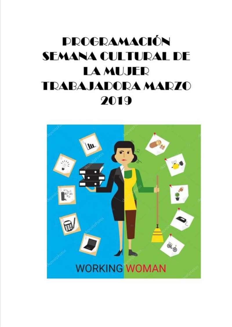 Cartel Semana Mujer