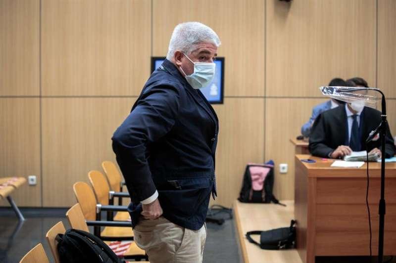El ex director general de Radiotelevisión Valenciana José López Jaraba, durante el juicio por delitos de prevaricación, fraude y malversación. EFE