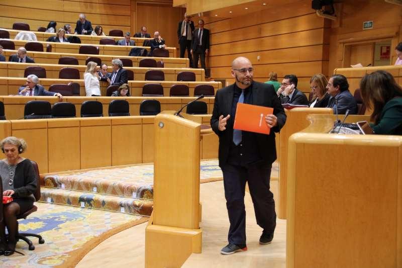 El senador, Jordi Navarrete