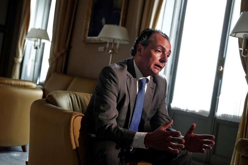 El presidente de la patronal valenciana CEV, Salvador Navarro. EFE/Manuel Bruque/Archivo