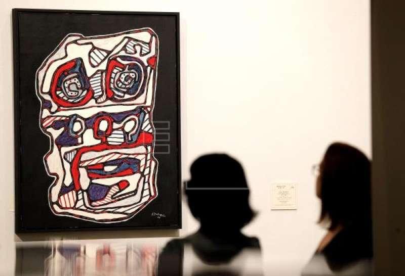 Exposición de Jean Dubuffet. EFE