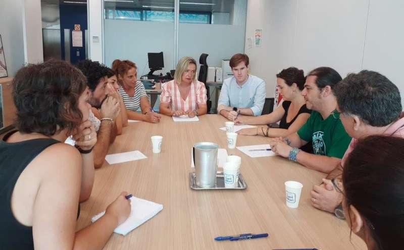 La secretaria autonómica de Atención Primaria y Servicios Sociales, Helena Ferrando. GVA