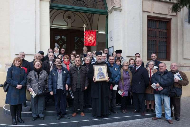 Fieles de distntas confesiones cristianas en Valencia. FOTO MANOLO GUALLART
