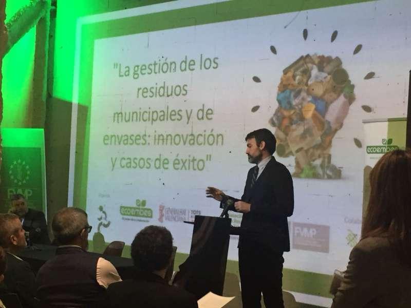 El Consorcio Valencia Interior participa en la jornada sobre los envases con el caso de éxito de Mi Cuenta Ambiental
