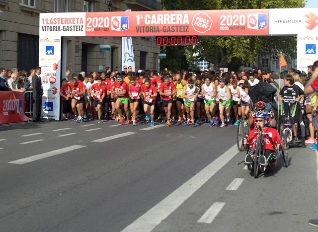 Imagen de la carrera. FOTO: EPDA