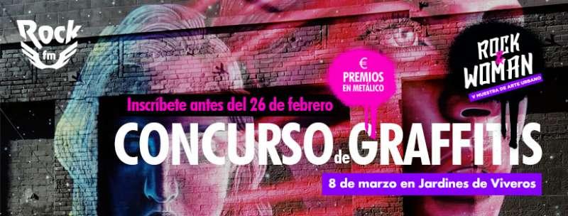 RockFM València convoca un concurso de graffitis con motivo del Día de la Mujer