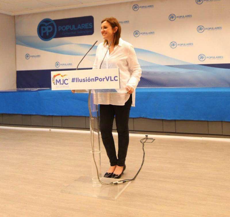 Catalá durante la presentación de la candidatura. EPDA