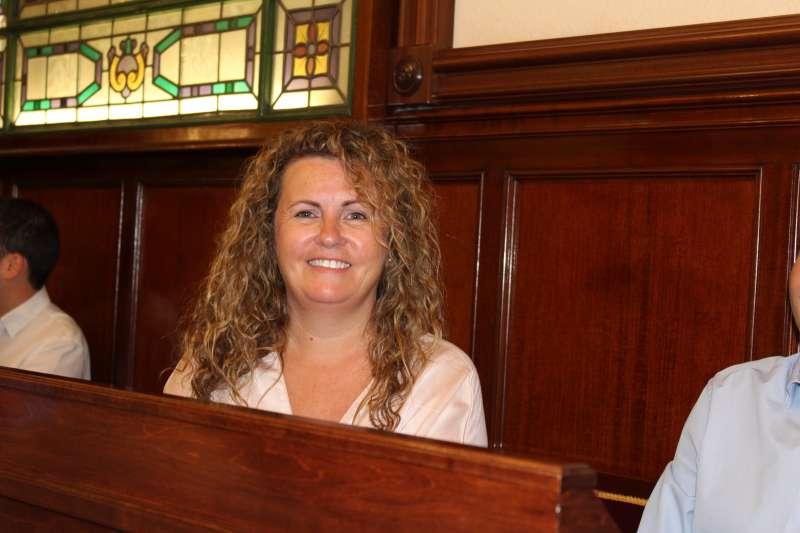 Cristina Fernández, portavoz del partido Ciudadanos en la Diputació. -EPDA