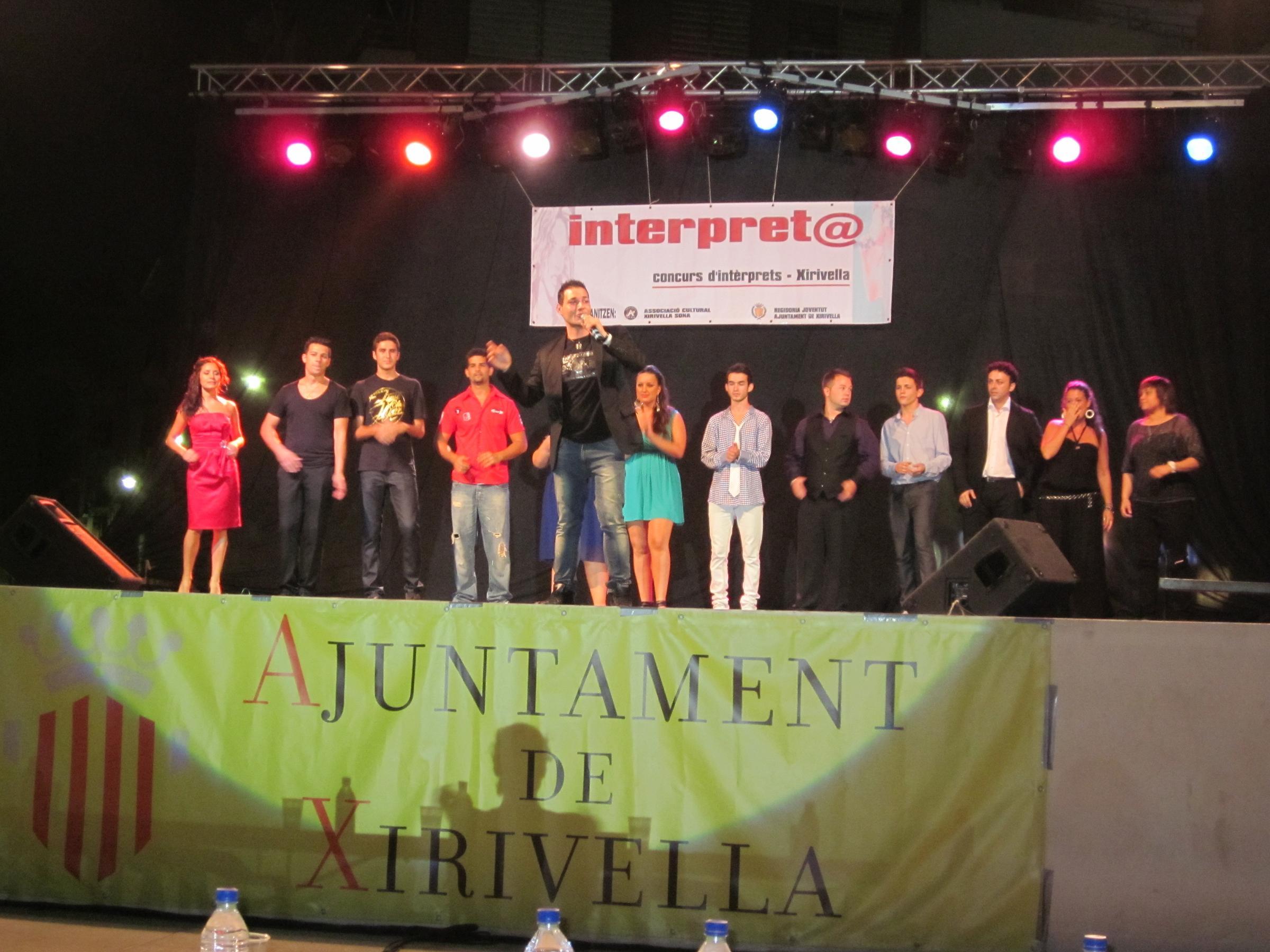 Concurso Interpret@ de Xirivella. Foto: EPDA