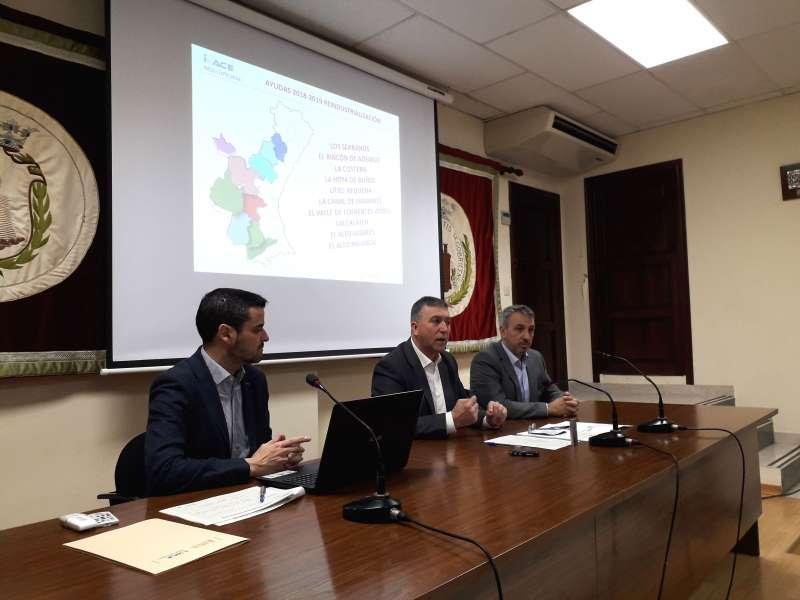 El conseller de Economía Sostenible, Sectores Productivos, Comercio y Trabajo, Rafa Climent, en Segorbe. EPDA