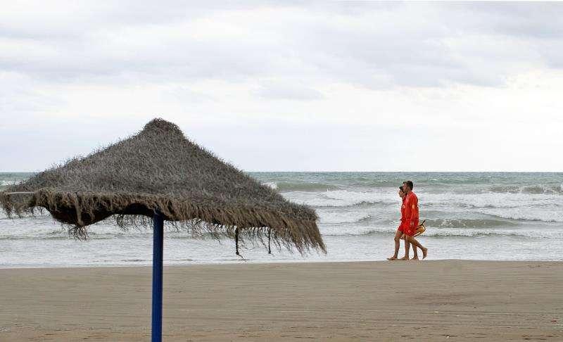 Zona de playa en Cullera. EFE