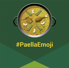 Emoji de la paella valenciana