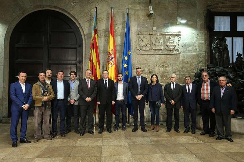 Foto oficial del encuentro. EPDA