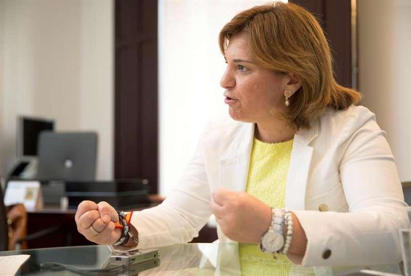 La presidenta del Partido Popular de la Comunitat Valencia (PPCV), Isabel Bonig. EFE/Manuel Bruque/Archivo