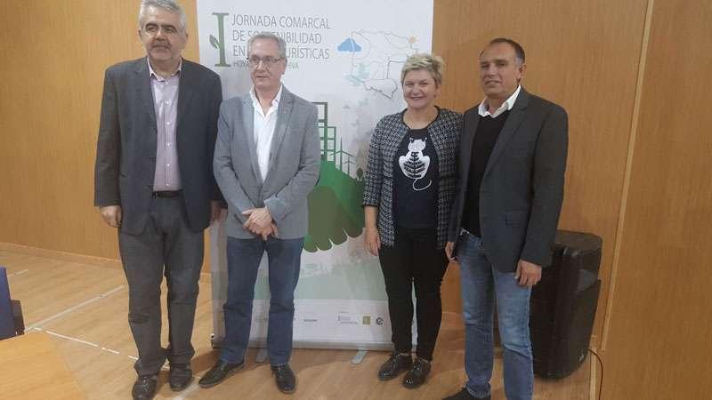 Pilar Moncho en la inauguració de la Jornada