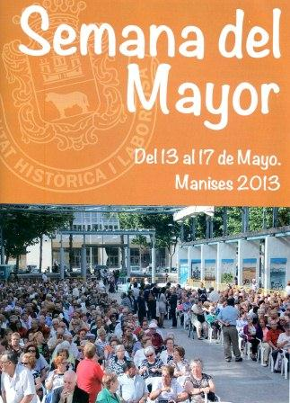 Cartel de la Semana del Mayor.
