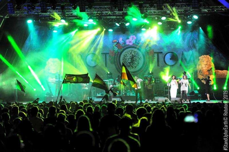 Imagen del festival Rototom Sunsplash. Foto de Tato Richieri. EFE/Rototom Sunsplash 2019