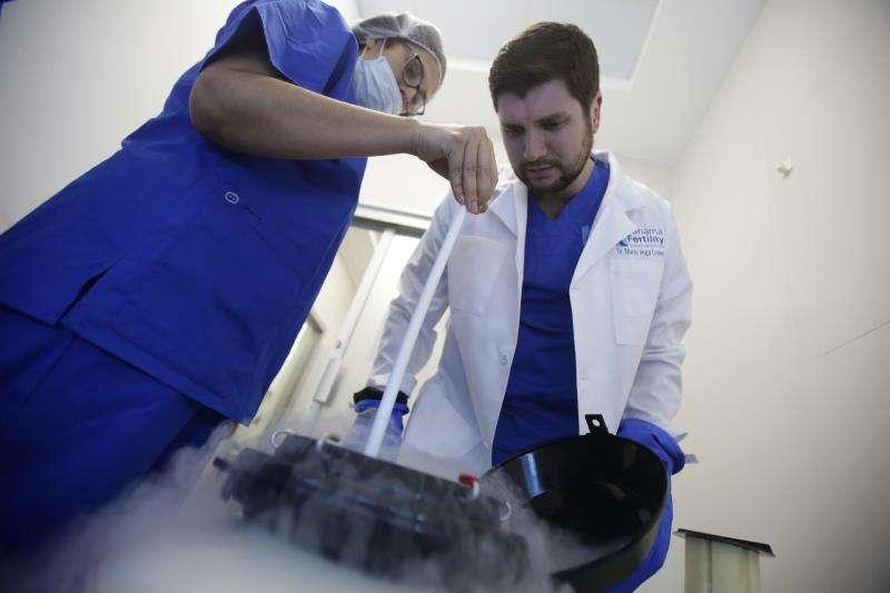 Especialistas en tratamientos de fertilidad en una imagen de archivo. EFE
