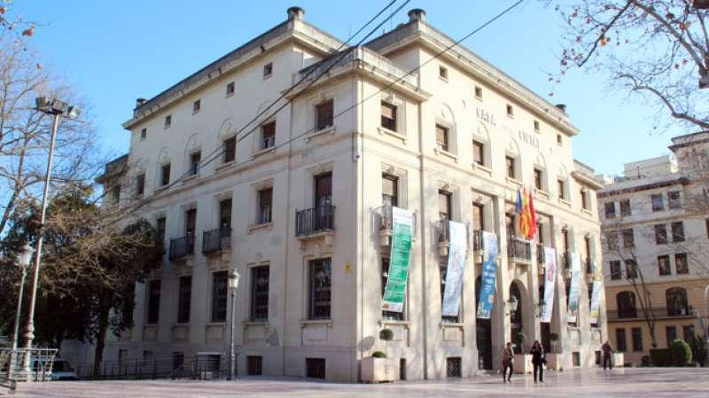 Fachada del Ayuntamiento de Xàtiva.