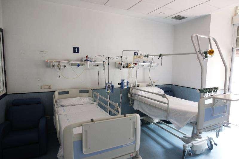 Vista general de una habitación en un hospital. EFE/Archivo