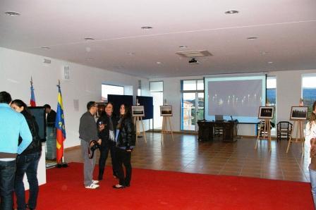 Maria Mery Ibañez expone en Alfara de la Baronía. Foto EPDA