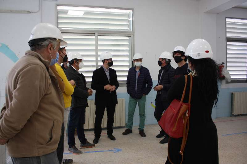 Visita al CEIP Cervantes/EPDA