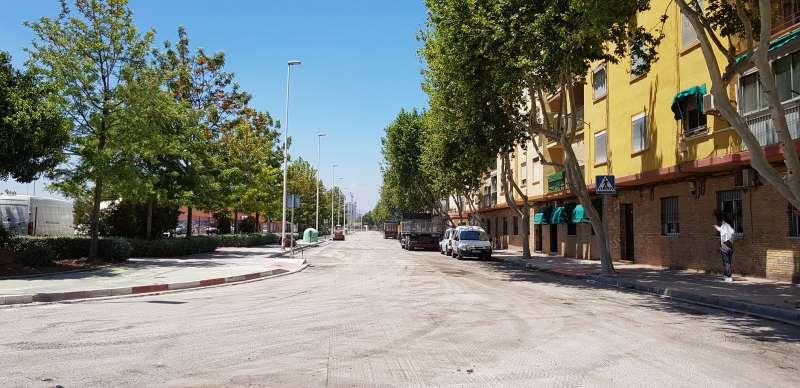 Avenida 3 de Abril de Port de Sagunt. EPDA