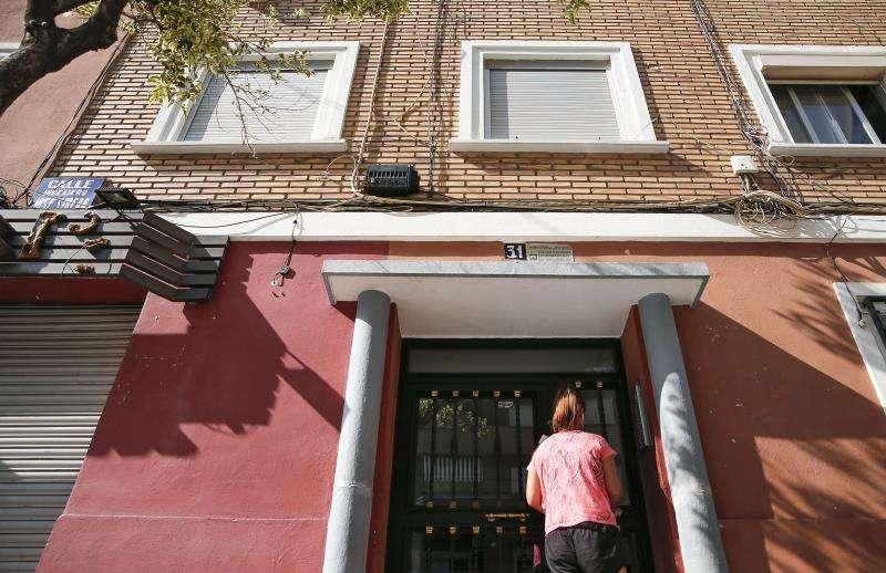 Domicilio familiar, en el barrio de San Marcelino de la ciudad de Valencia, donde sucedieron los hechos. EFE/Archivo