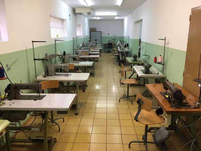 Aula de Textil. / EPDA