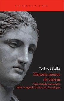 ?Historia menor de Grecia? de Pedro Olalla. Foto EPDA