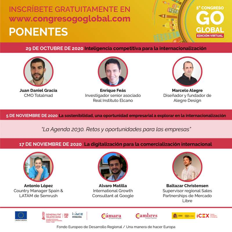 Ponentes 5 Congreso Go Global