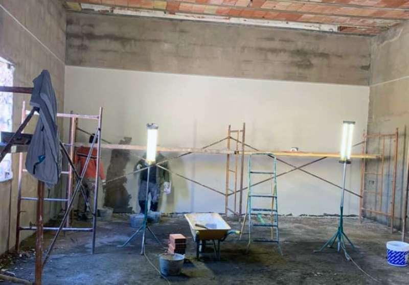 Obras para el futuro museo