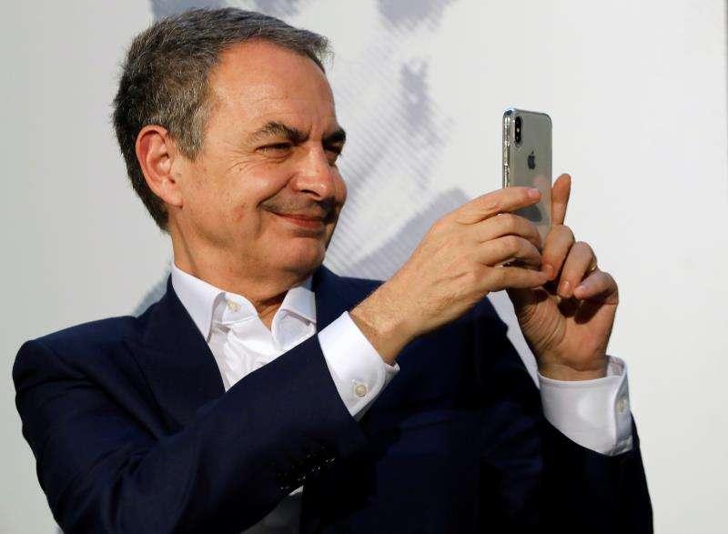 El expresidente del Gobierno José Luis Rodriguez Zapatero. EFE