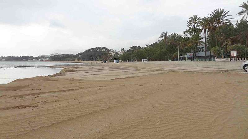 Playa de la Marineta Cassiana. EPDA.