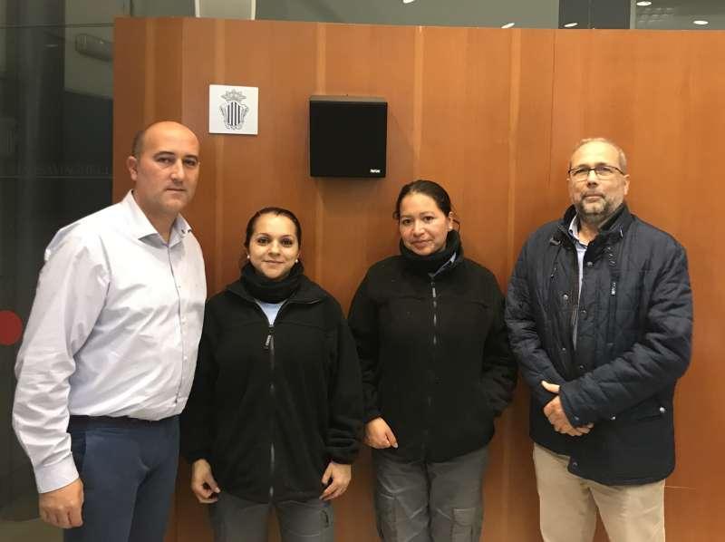 Nuevas trabajadoras para tareas agrícolas en Massamagrell. EPDA