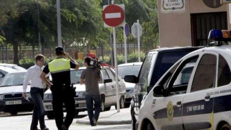 Un agent de la Policia Local de Massanassa. EPDA