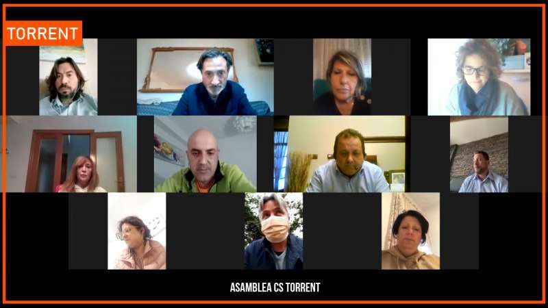 Miembros de Ciudadanos Torrent EPDA