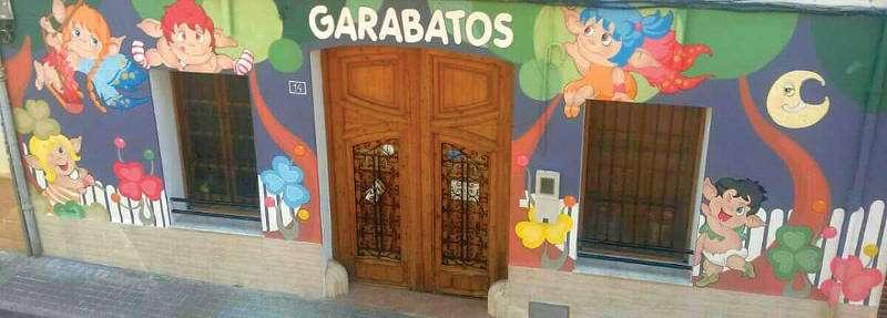 Entrada del Centro de Educación Infantil Garabatos en Paterna. EPDA