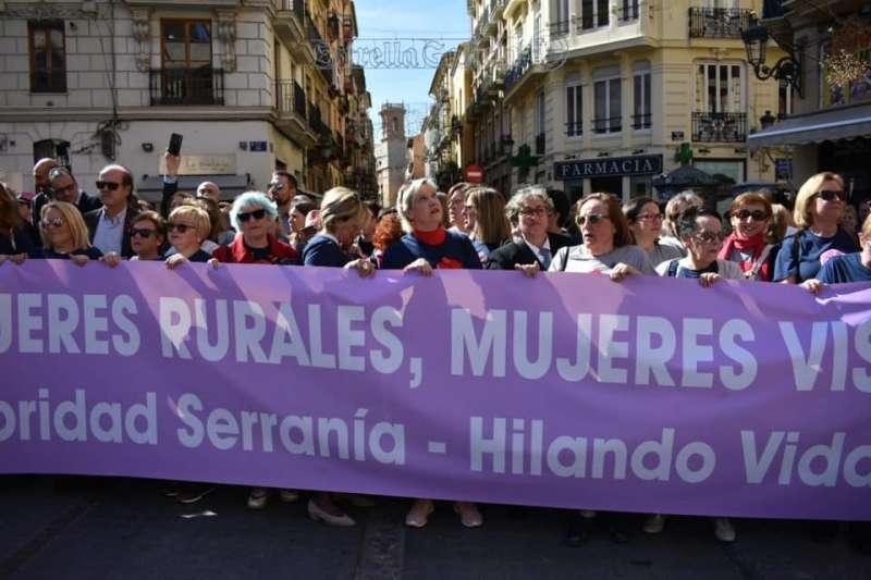 Manifestación por la igualdad, antes de la crisis del Covid-19. EPDA.