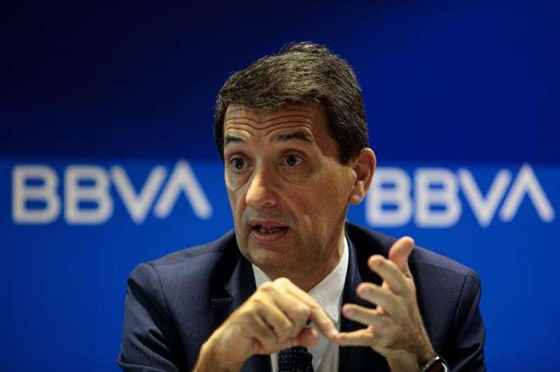 El responsable de análisis económico del BBVA, Rafael Doménech. EFE