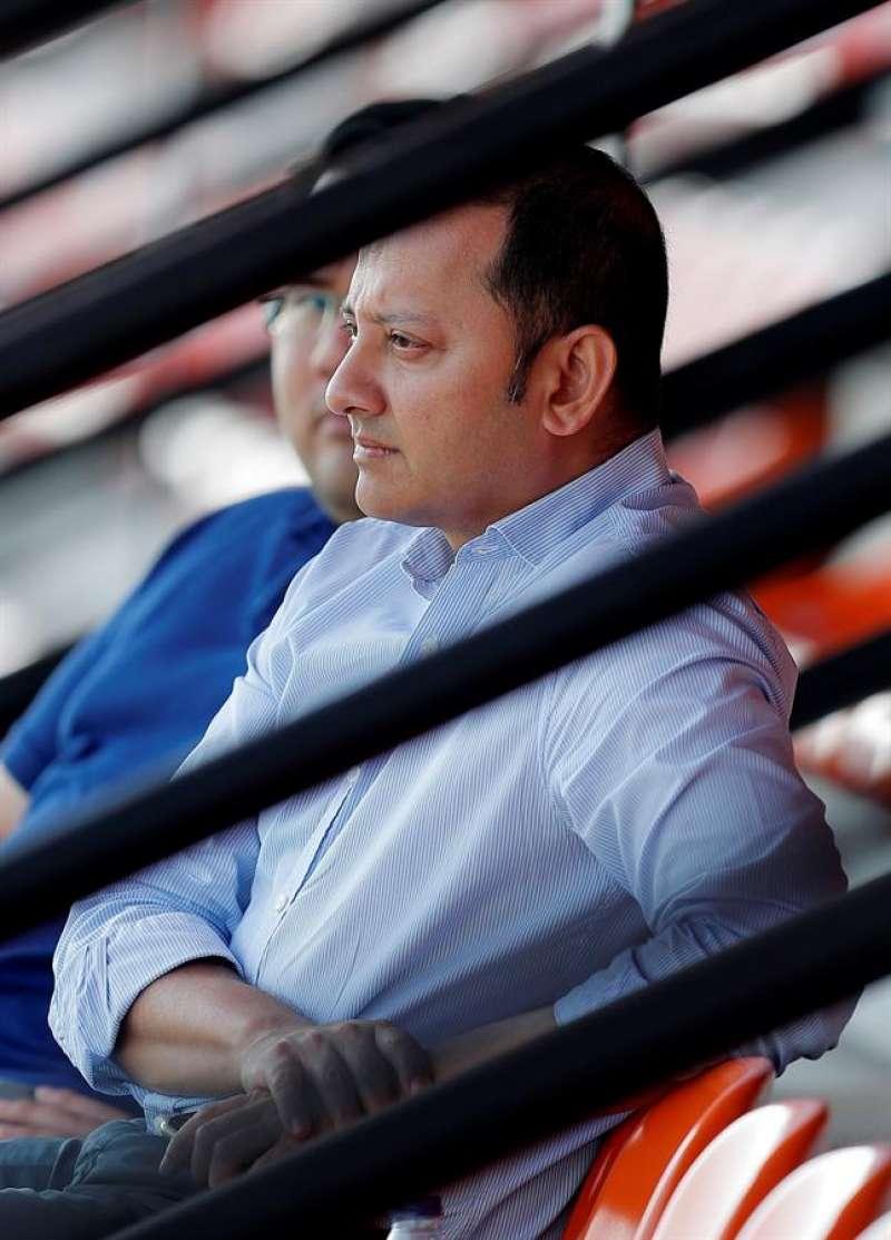 El presidente del Valencia, Anil Murthy. EFE