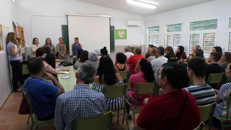 Presentació del programa en Meliana. EPDA