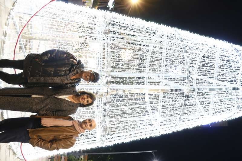 Carmen Martínez, Ángel Lorente y Juan Borrego. EPDA