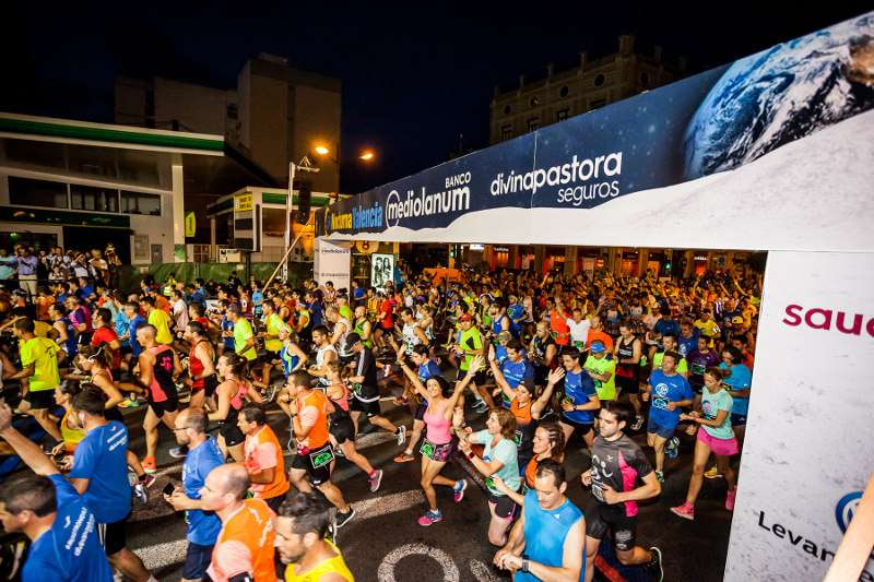 Instante de la Maratón en la edición del pasado año